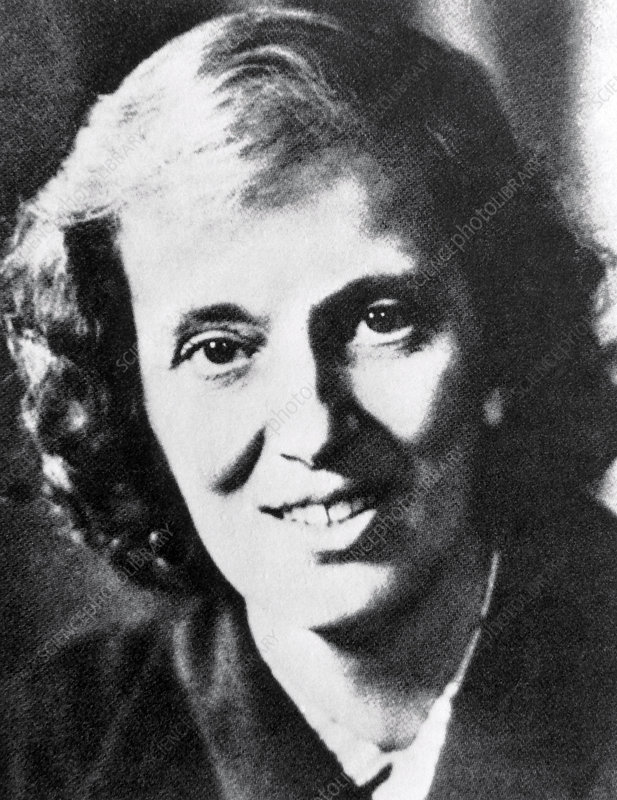 Crystallographer Dorothy Crowfoot Hodgkin