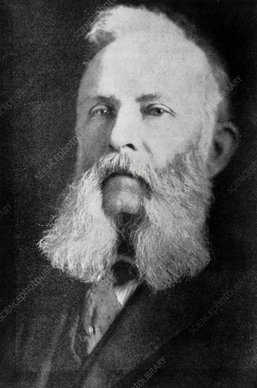 William Hillbrand, American discoverer of helium
