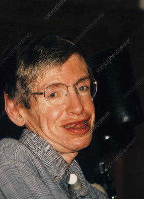 Stephen Hawking, British theoretical physicist