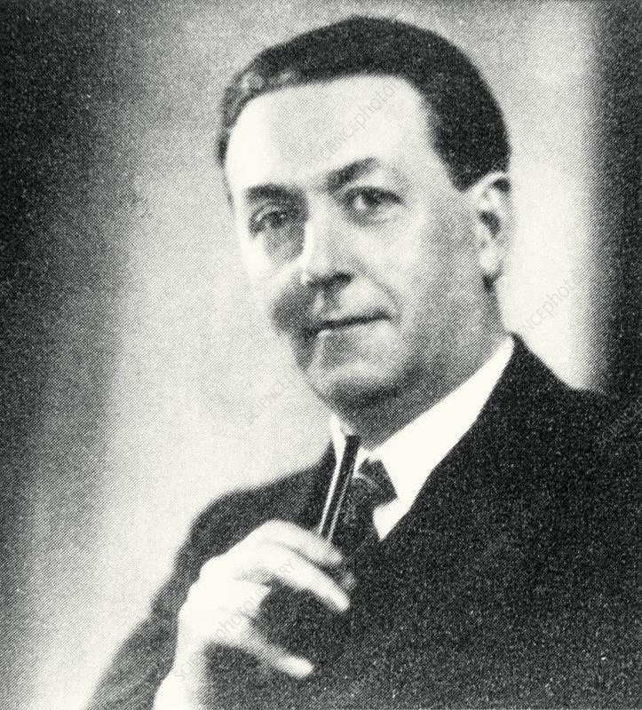 Portrait of Arthur Holmes, English geologist