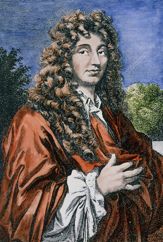 Physicist Christiaan Huygens