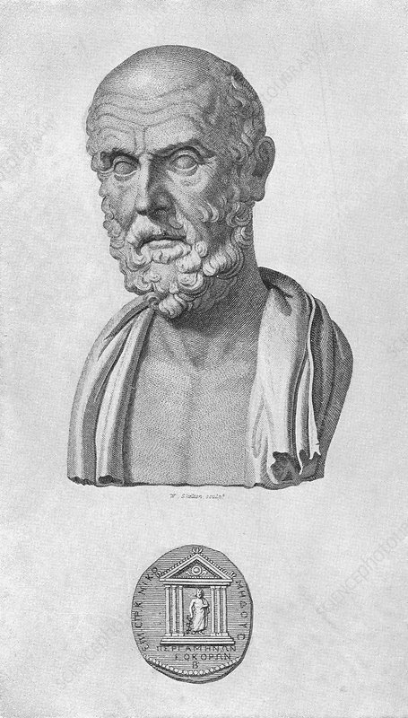 Hippocrates, Greek doctor and philosopher