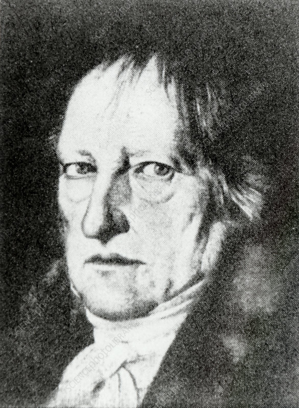 Hegel, German philosopher