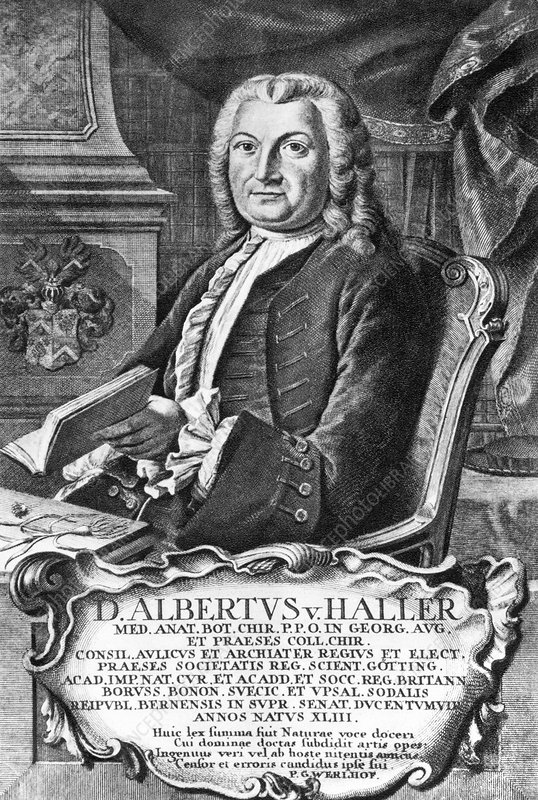 Albrecht von Haller, Swiss scientist