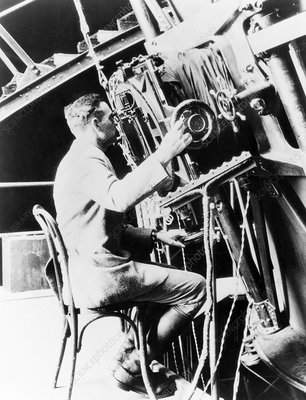 Edwin Hubble, US astronomer