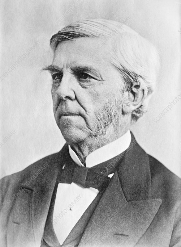 Oliver Wendell Holmes, US physician