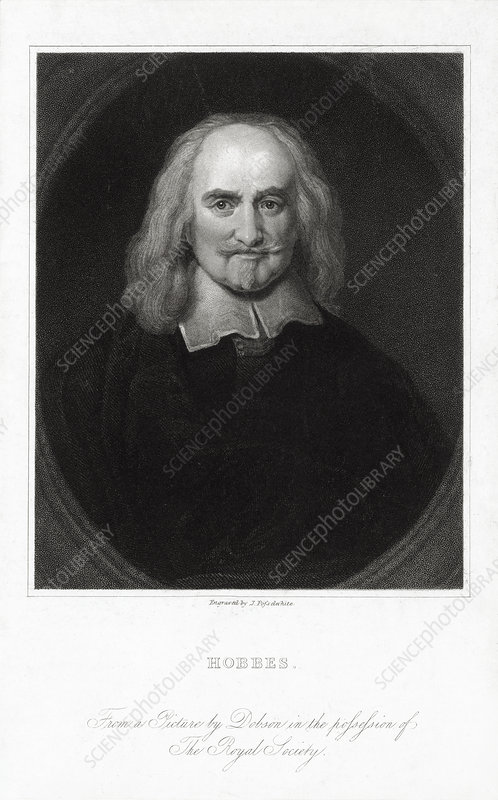 Thomas Hobbes, English philosopher