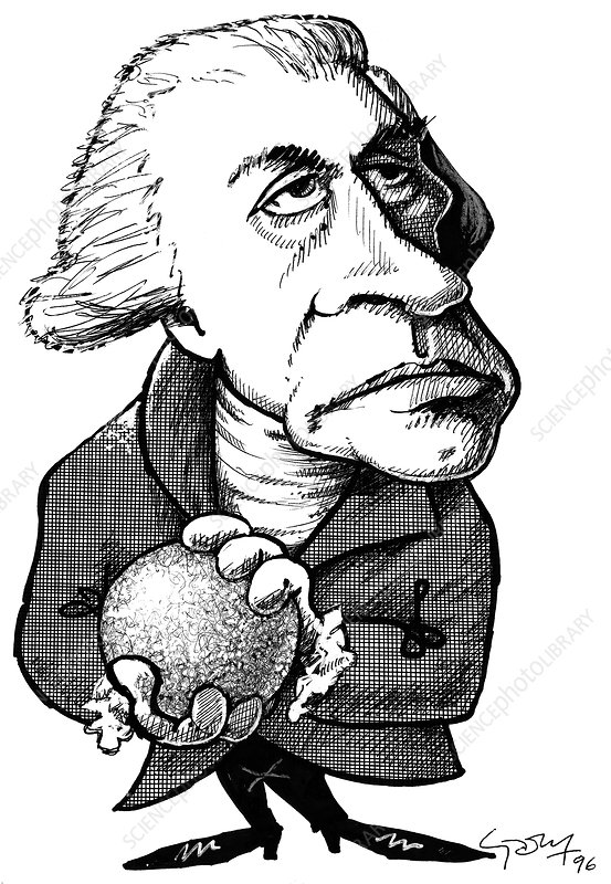 William Herschel, caricature