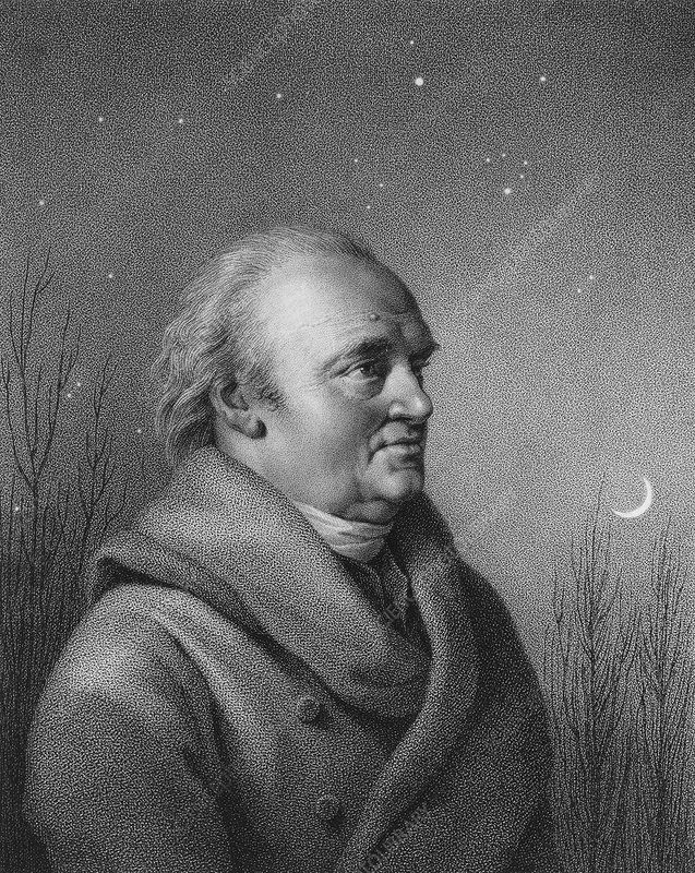Sir William Herschel, British astronomer