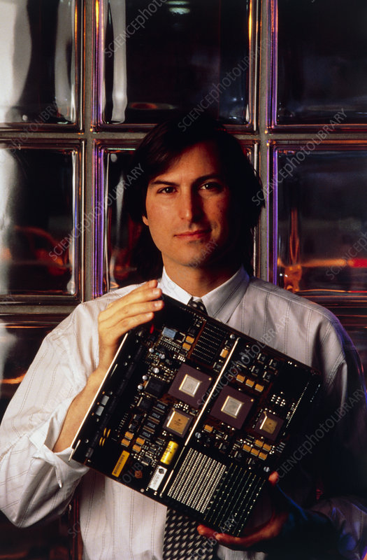 Steve Jobs, computer entrepeneur, founder of Apple