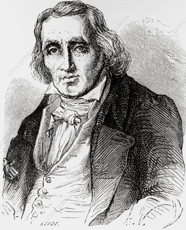 Joseph Marie Jacquard, French inventor