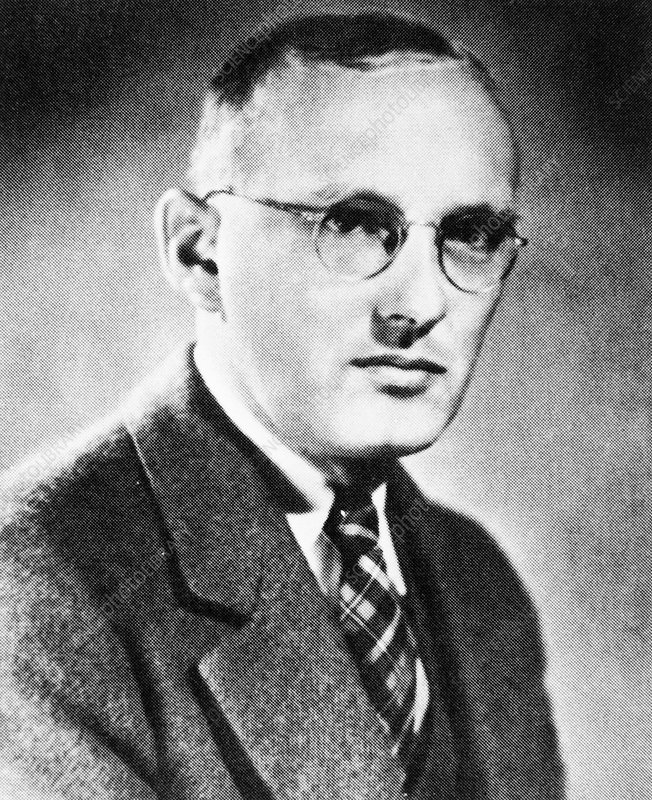 The American radio engineer, Karl Jansky