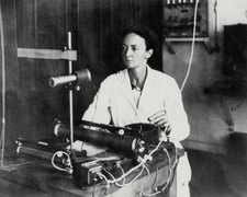 French physicist Irene Joliot-Curie