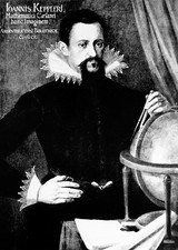Portrait of Johannes Kepler, 1571-1630.