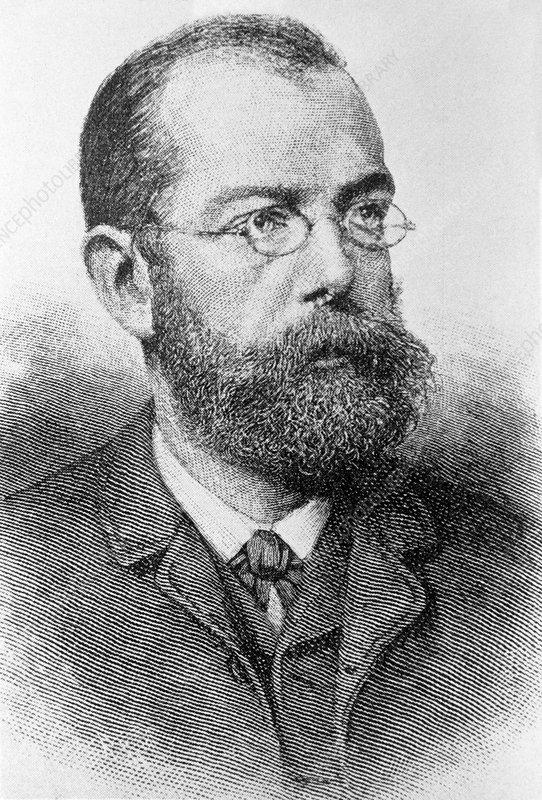 Robert Koch, German bacteriologist