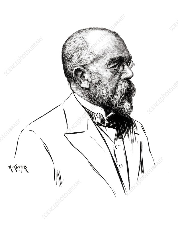 Robert Koch, German bacteriologist