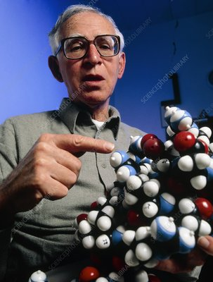 A. Klug and model of zinc finger molecule