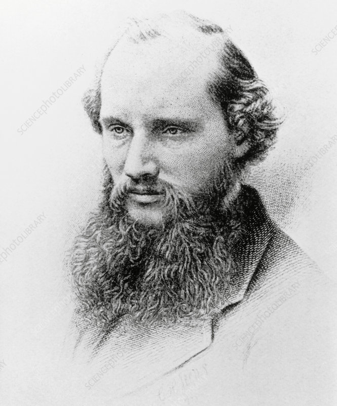 Engraving of British physicist, Lord Kelvin