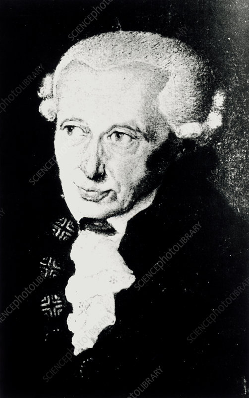 Immanuel Kant, German philosopher and astronomer