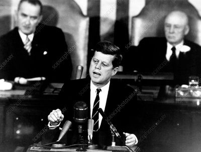 Kennedy's Moon landing speech