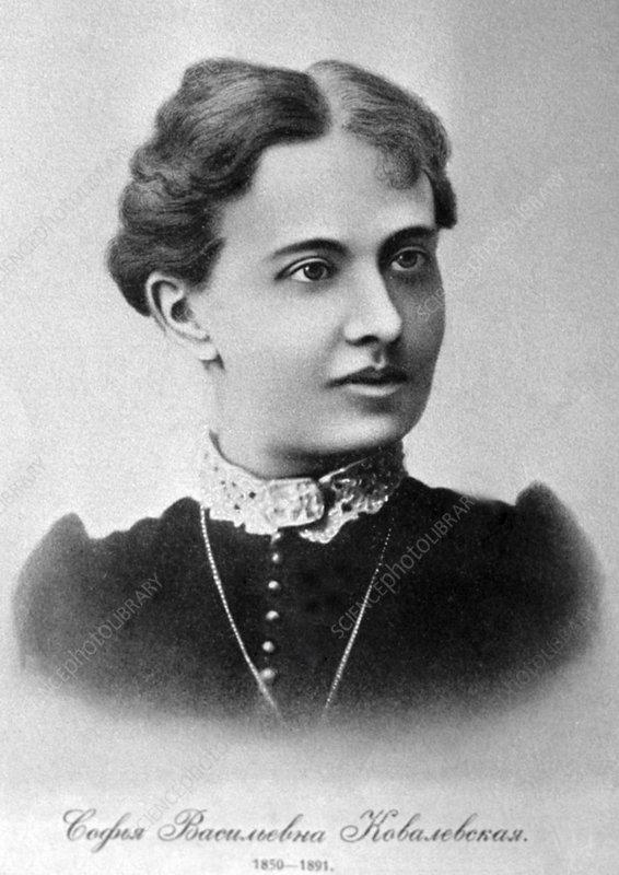 Sofia kovalevskaya russian mathematician
