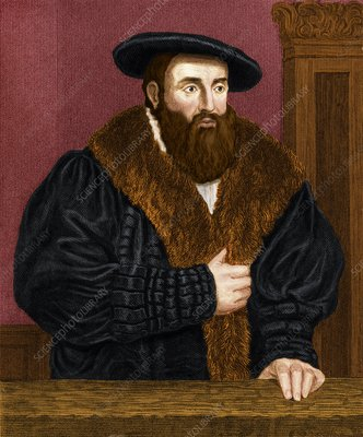 Johannes Kepler, German astronomer