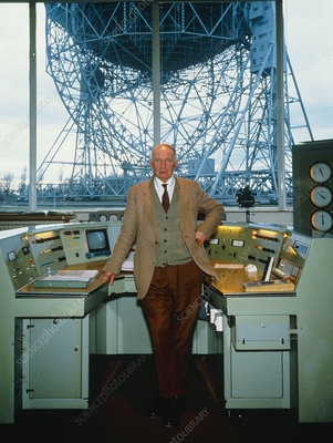 Astronomer Sir Bernard Lovell