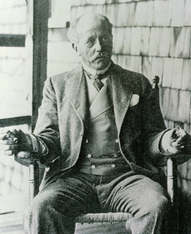 Portrait of Percival Lowell