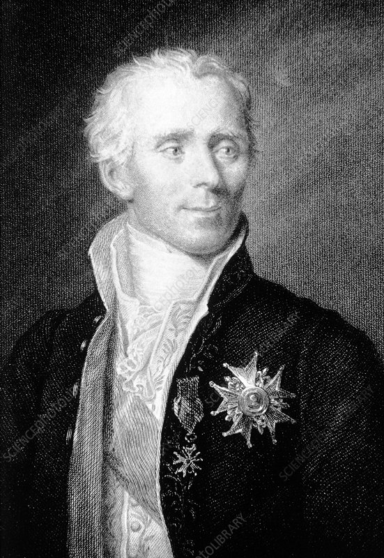 The French mathematician and astronomer P. Laplace