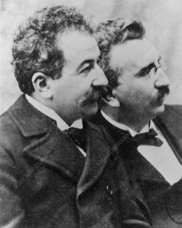 Cinema pioneers Auguste and Louis Lumiere