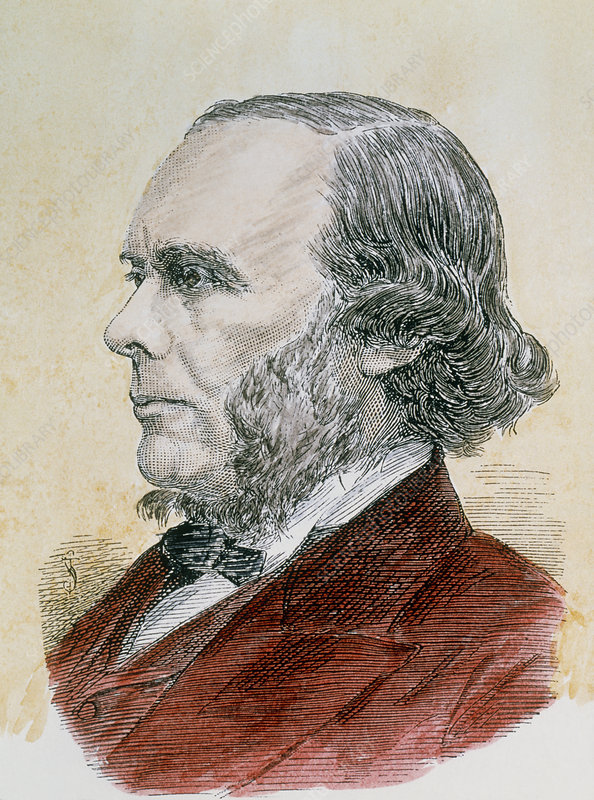 Portrait of the English surgeon Joseph Lister
