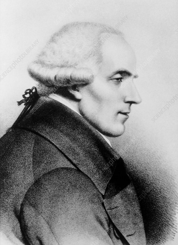 Portrait of the mathematician Pierre Simon Laplace