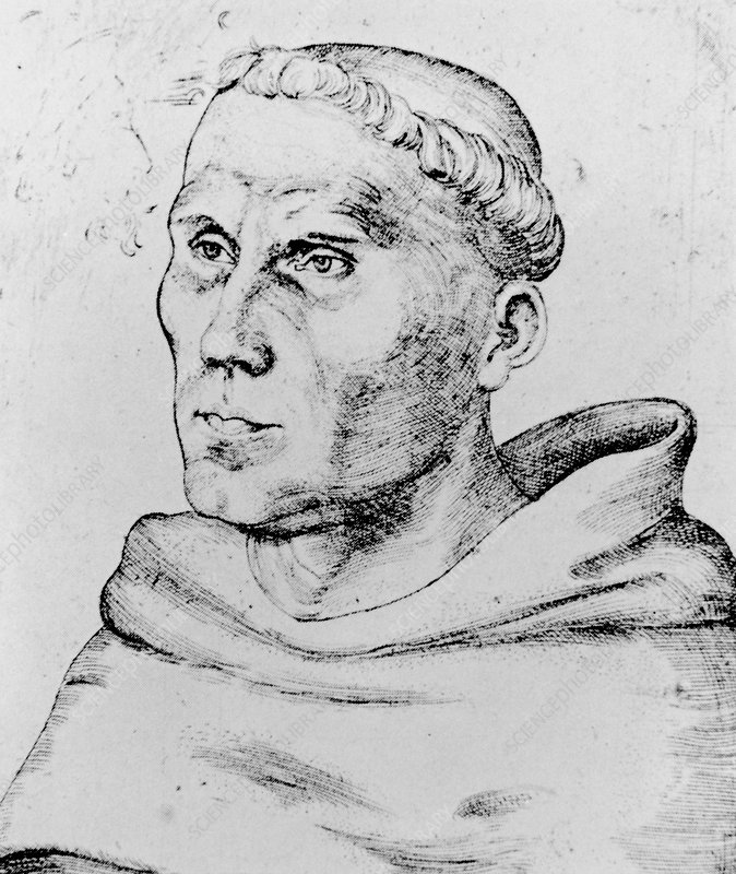 Martin Luther, German priest