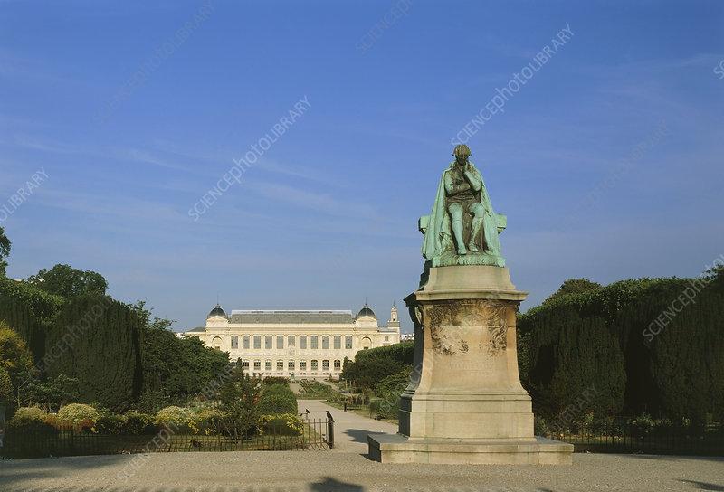 Statue of Lamarck, French naturalist