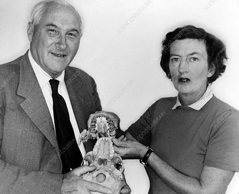 Louis and Mary Leakey, palaeontologists
