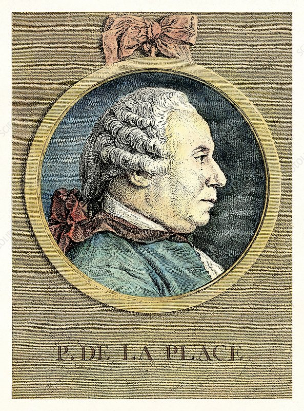 Pierre-Simon Laplace, French astronomer