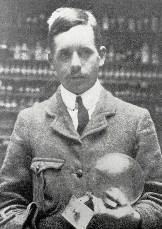 Portrait of Henry Moseley