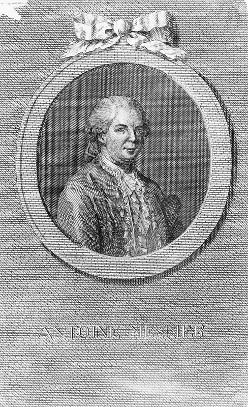 Portrait of the Austrian physician Anton Mesmer