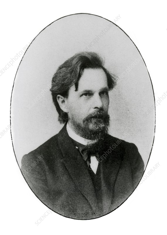 Portrait of Andrei Andreyevich Markov