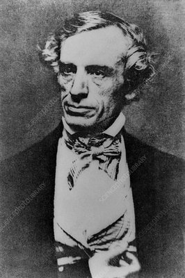 The American inventor and painter Samuel Morse