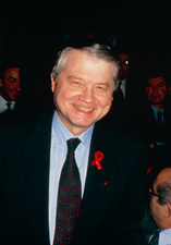 Professor Luc Montagnier, French AIDS res