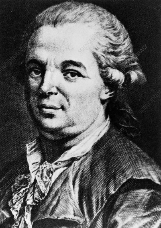 Portrait of Austrian physician, Franz Anton Mesmer