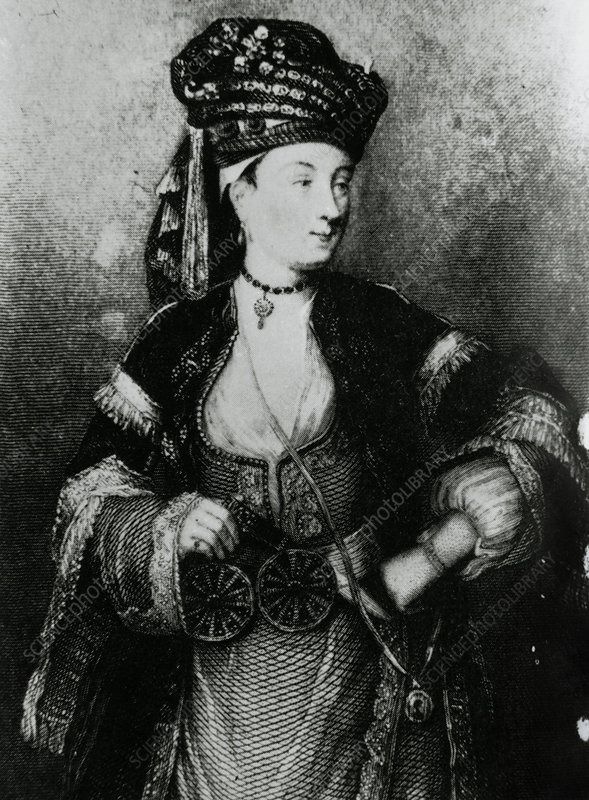 Lady Mary Wortley Montagu, smallpox pioneer.