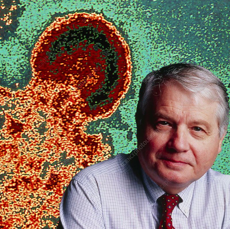 Luc Montagnier, virologist & HIV co-disco