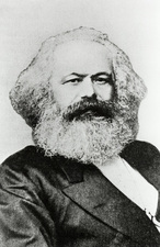 Karl Marx, German philosopher