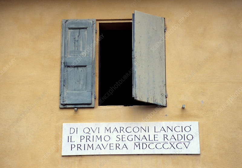 Window where Marconi transmitted radio