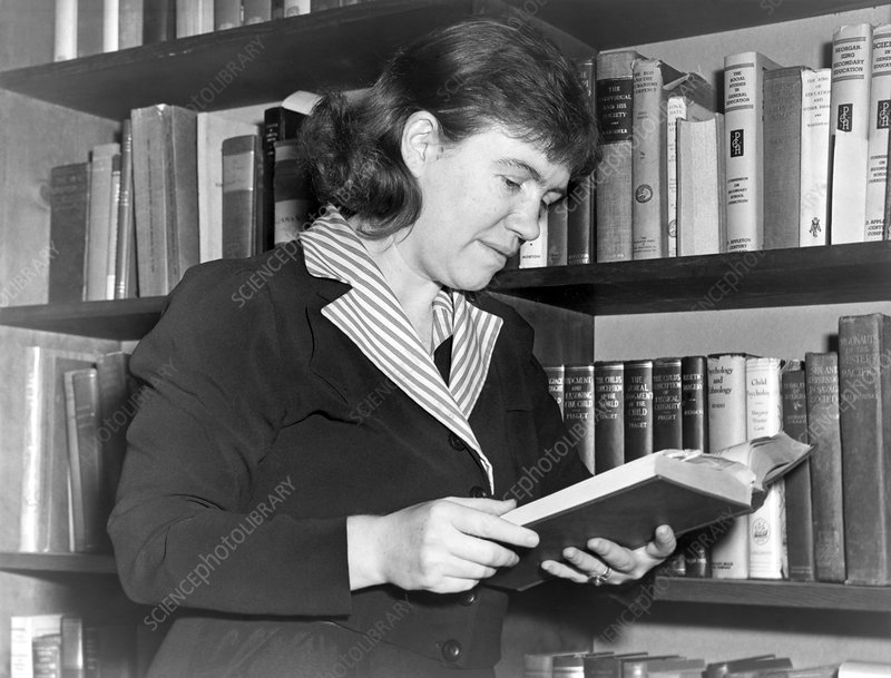 Margaret Mead, US anthropologist