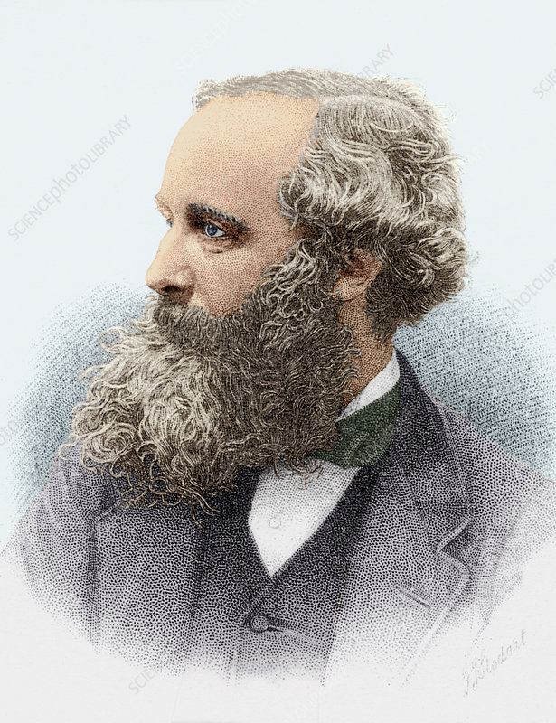 James Clerk Maxwell Scottish Physicist Stock Image H413