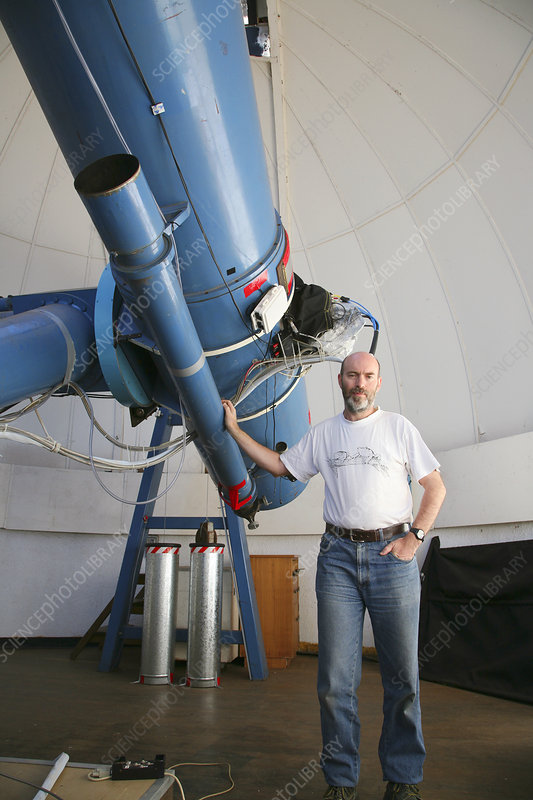Rob McNaught, UK-Australian astronomer