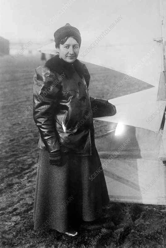 Marie Marvingt, French aviator